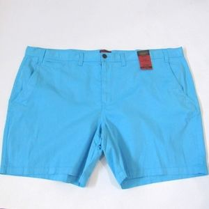 New The Foundry Flex Flat Front Shorts